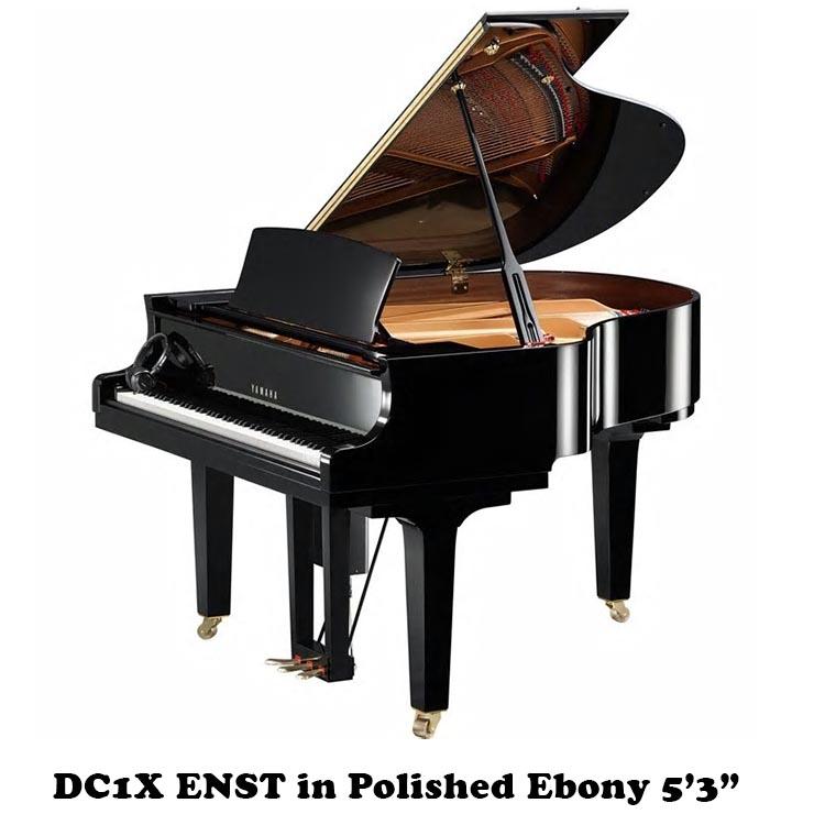 "DC1X ENST Yamaha Player Piano 5'3"" Disklavier"