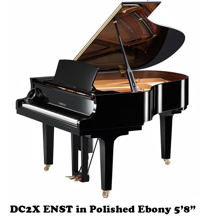 "Yamaha DC2X ENST 5'8"" Baby Grand Player Piano"