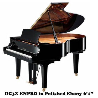 "DC3X ENPRO Yamaha 6'1"" disklavier Player Piano"