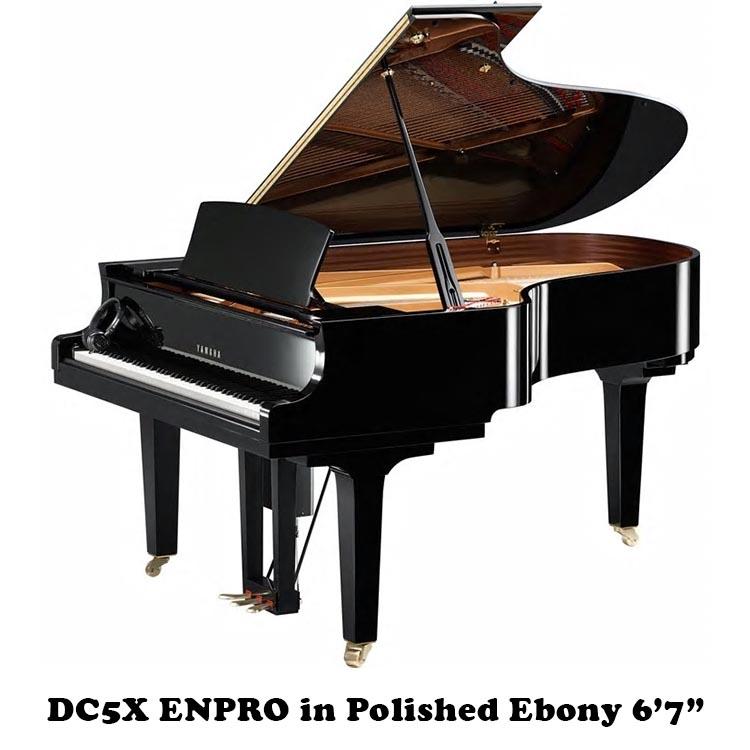 """DC5XENPRO yamaha disklavier piano 6'7"""" player piano"""