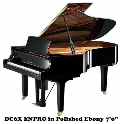 DC6X ENPRO YAmaha Grand Piano with Disklavier Player System.7'0""