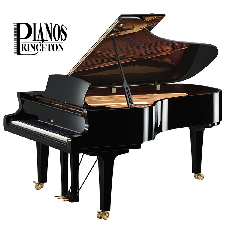 "Yamaha s7x 7'6"" concert grand piano"