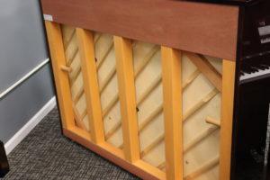 Yamaha u1 piano sound board and back post