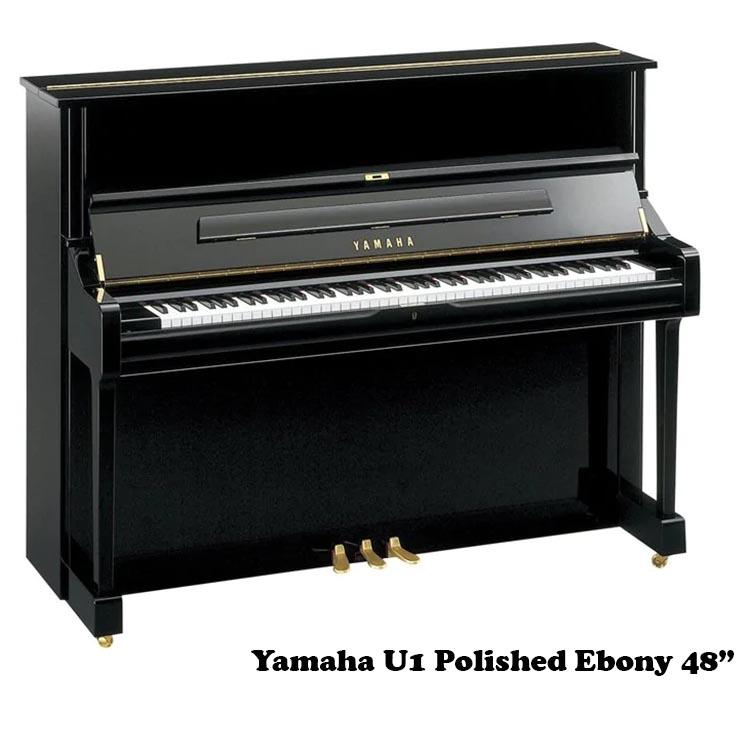 Yamaha U1 in Polished Ebony